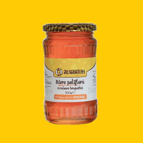 Miere polifloră, 500g